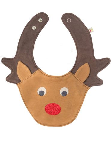 Frugi Cheeky Chops Bib - Tilly & Jasper