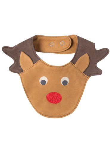 Image of Frugi Cheeky Chops Bib - Tilly & Jasper