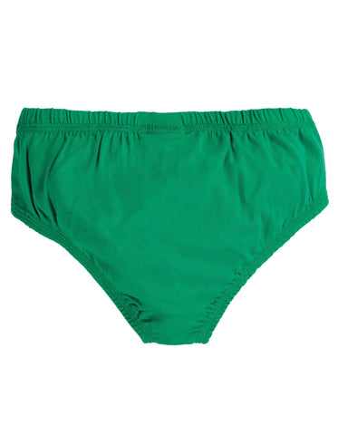 Frugi Barney Printed Brief - Jade/Tiger
