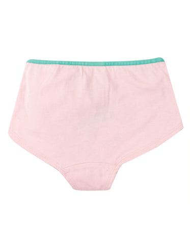 Image of Frugi Georgia Girl Shorts - Soft Pink/Bunny