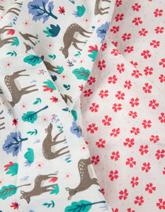Frugi Lovely 2 Pack Muslin - Deer Multipack