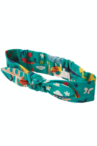 Frugi Astrid Headband -  Jewel India