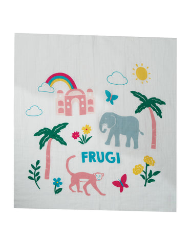 Image of Frugi Lovely 2 Pack Muslin -  Elephant Multipack