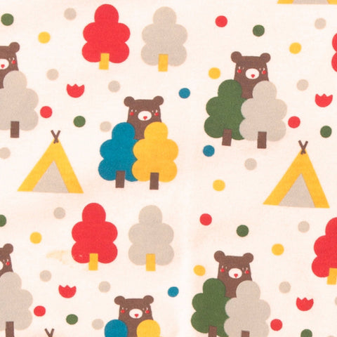 The Bear Necessities Wrap Baby Body - Organic Fairtrade Cotton