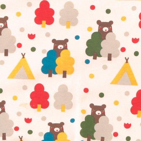 Organic Fairtrade Cotton - The Bear Necessities Playsuit