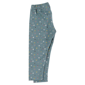 Pigeon Organics - Leggings - Spots on Blue