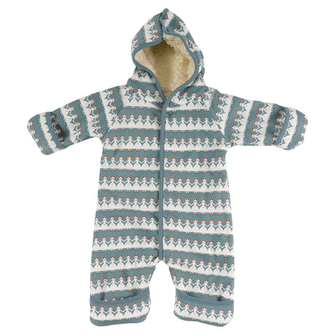 Image of Pigeon Organics Snuggle Suit - Paper Dolls
