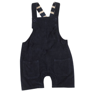 Pigeon Organics Baby Dungarees - Ink Blue