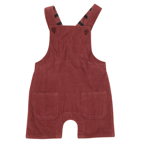 Pigeon Organics Baby Dungarees - Spice