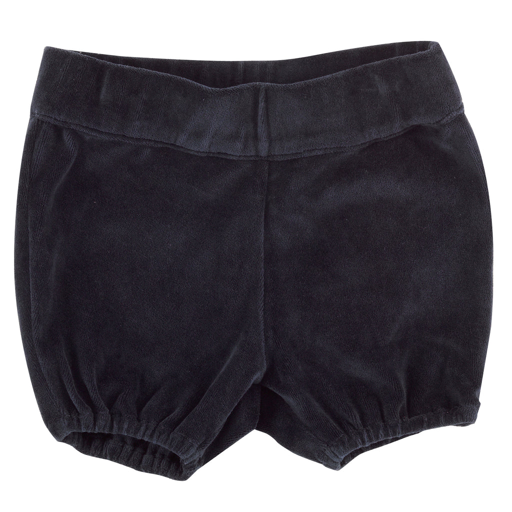 Pigeon Organics Bloomers - Ink Blue Velour