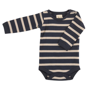 Pigeon Organics Breton Stripe Body - Ink Blue/Pumice