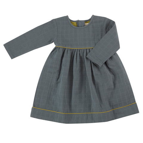 Pigeon Organics Pretty Muslin Dress - Teal