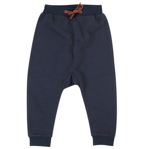 Pigeon Organics Slouchy Joggers - Ink Blue