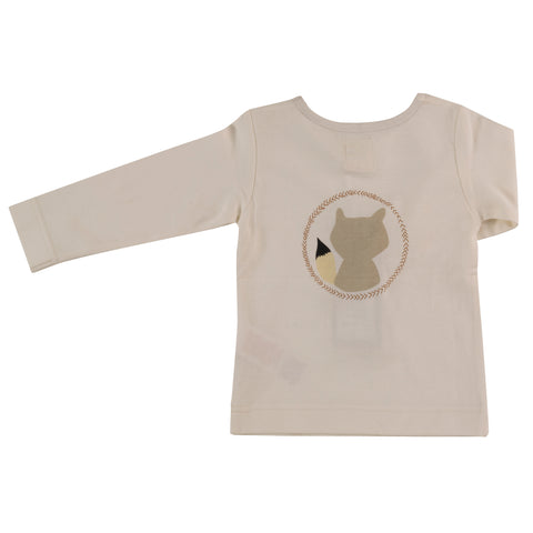 Image of Pigeon Organics Long Sleeve Tee - Raccoon Spice