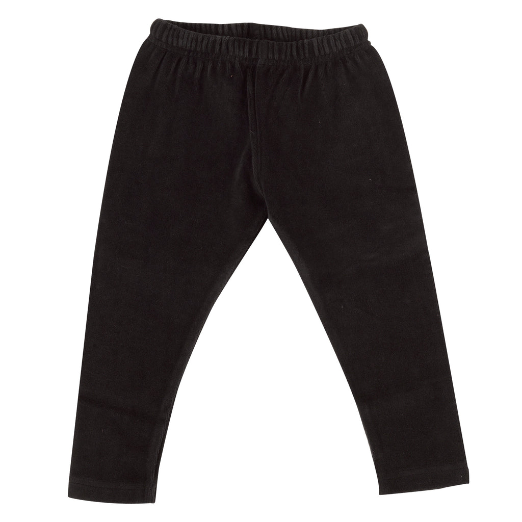 Pigeon Organics Velour Leggings - Black
