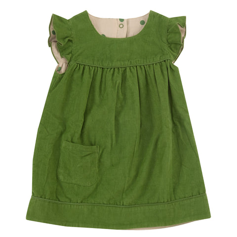 Pigeon Organics Winter Shift Dress (reversible) - Green