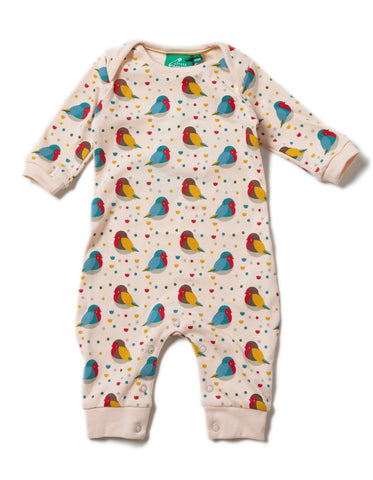 LGR Playsuit - Rainbow Robins