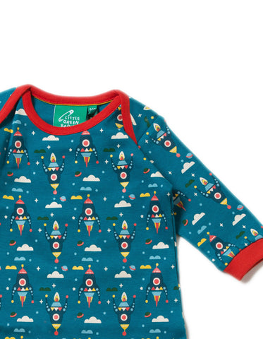 Image of LGR Playsuit - Night Sky Rockets