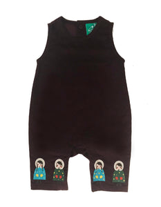 LGR Embroidered Dungarees - Dressed For Snow