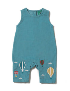 LGR Embroidered Dungarees - Higher Ground