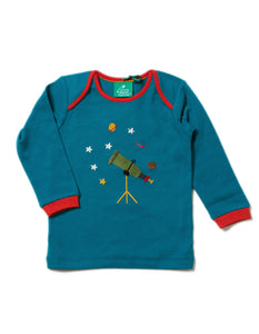 LGR Long Sleeve Applique Tee - Star Gazer