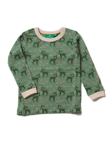 LGR Long Sleeve Tee - Forest Doe