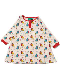 LGR Playaway Dress - Rainbow Robins