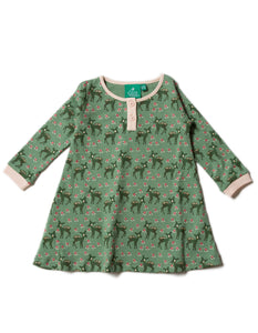 LGR Playaway Dress - Forest Doe