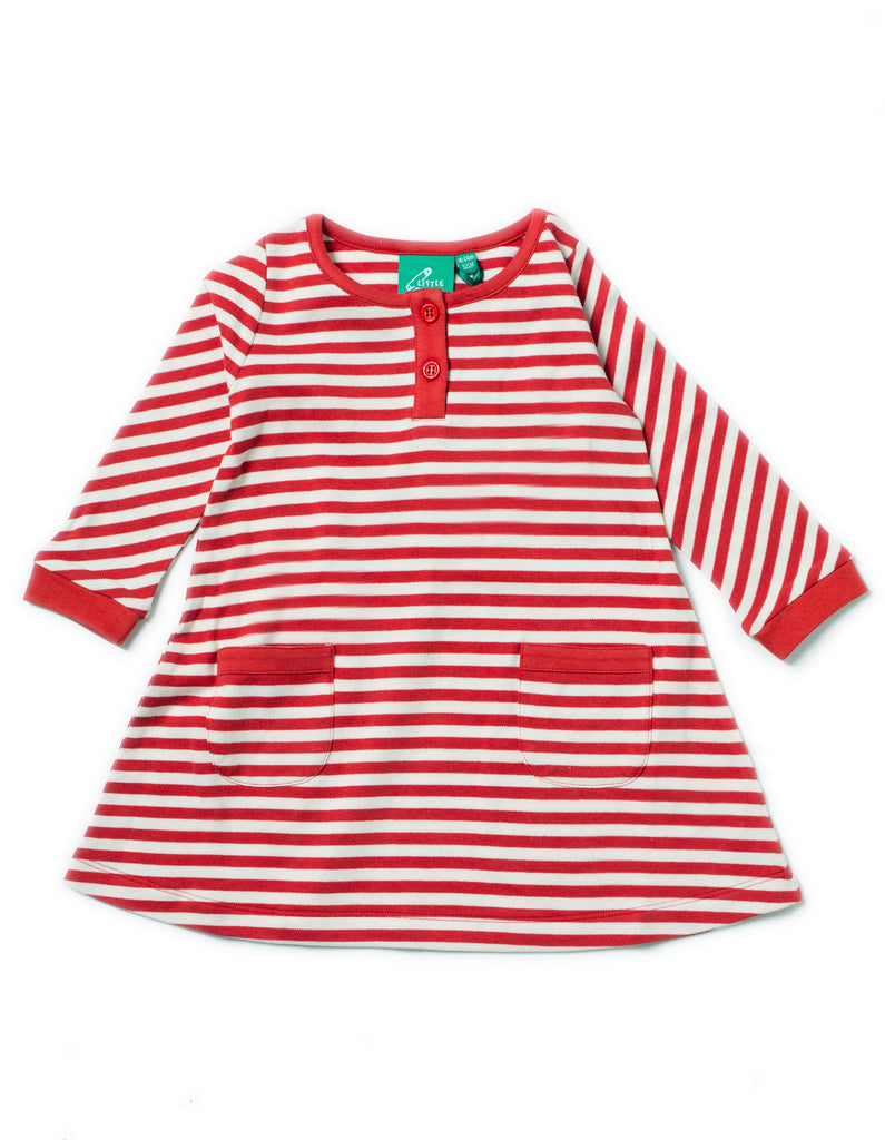 LGR Playaway Dress - Red Stripes