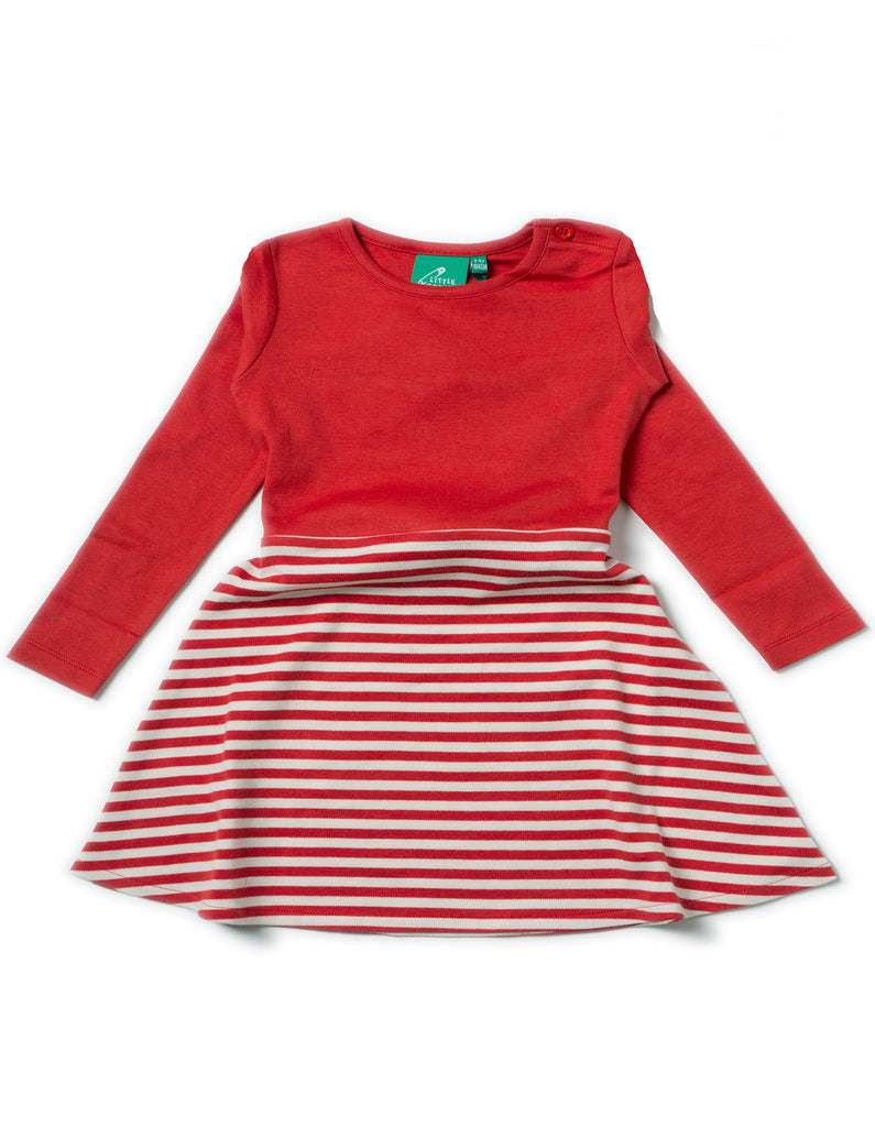 LGR Little Twirler Dress - Red