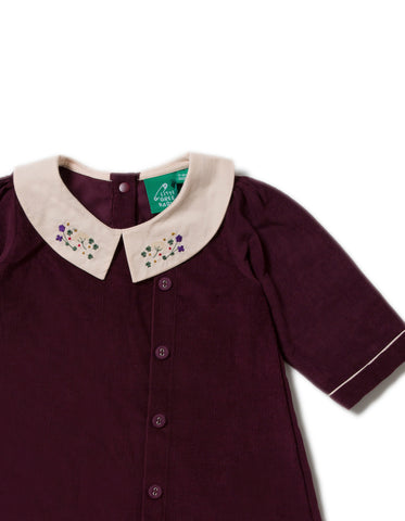 Image of LGR Button Down Dress - Plum