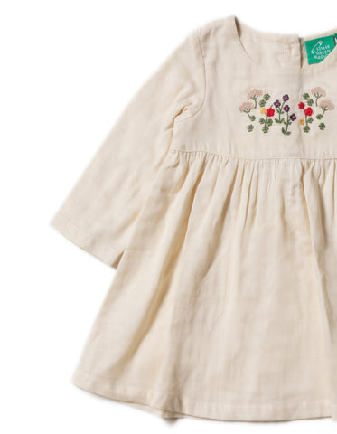 Image of LGR Embroidered Dress - Mountain Blooms