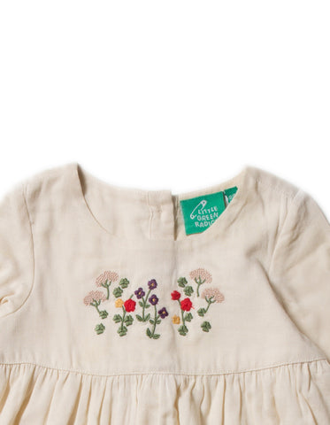 LGR Embroidered Dress - Mountain Blooms