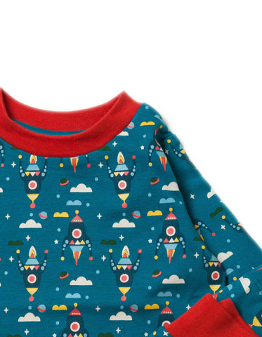 LGR Night Sky Rockets Pyjamas