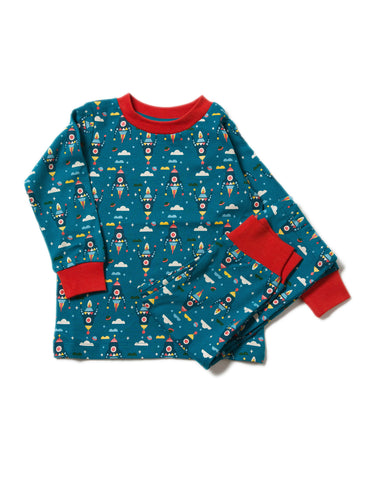 Image of LGR Night Sky Rockets Pyjamas