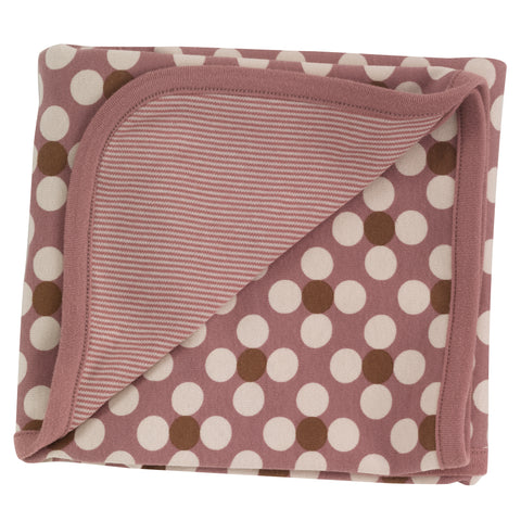 Pigeon Organics Blanket - Dotty - Rose
