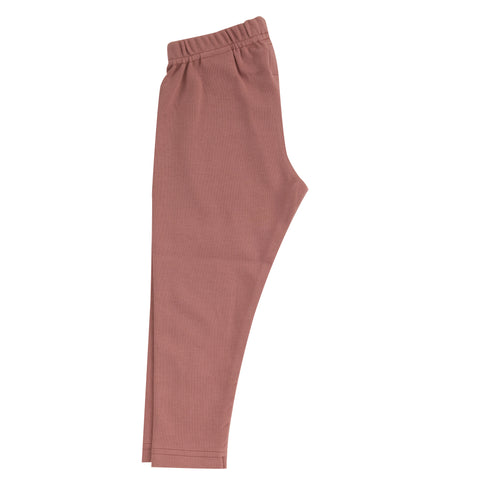 Pigeon Organics Leggings (Plain) - Rose