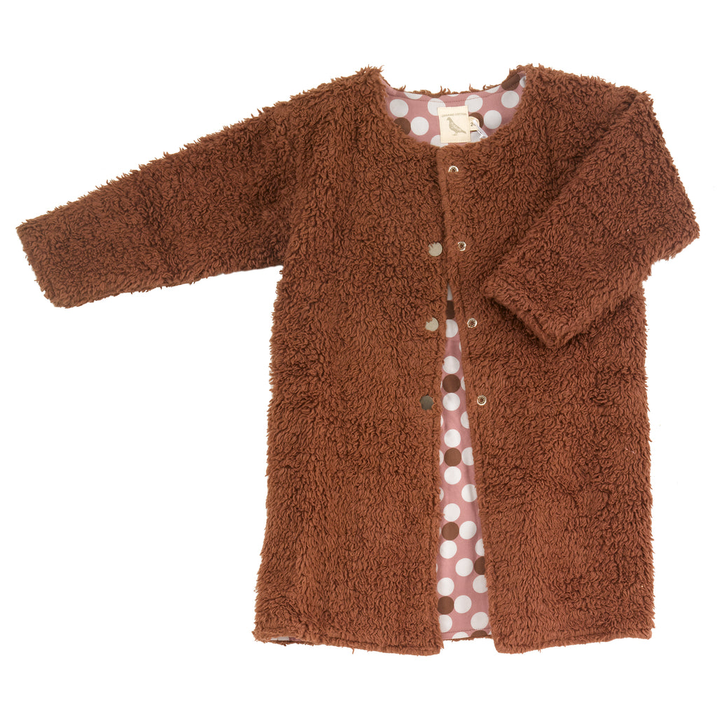 Pigeon Organics Teddy Bear Coat - Brown