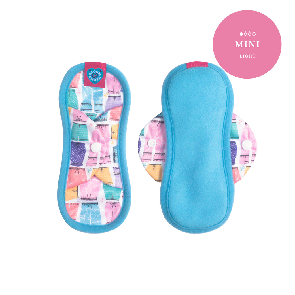 Bloom Single Reusable Sanitary Pad - Amelia Mini