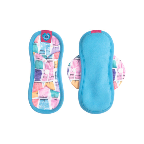 Image of Bloom Single Reusable Sanitary Pad - Amelia Mini