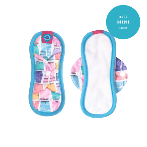 Image of Nora Single Reusable Sanitary Pad - Amelia Mini