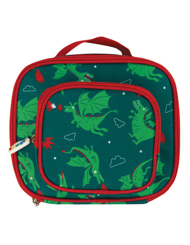 Image of Frugi Pack A Snack Lunch Bag - Dragons