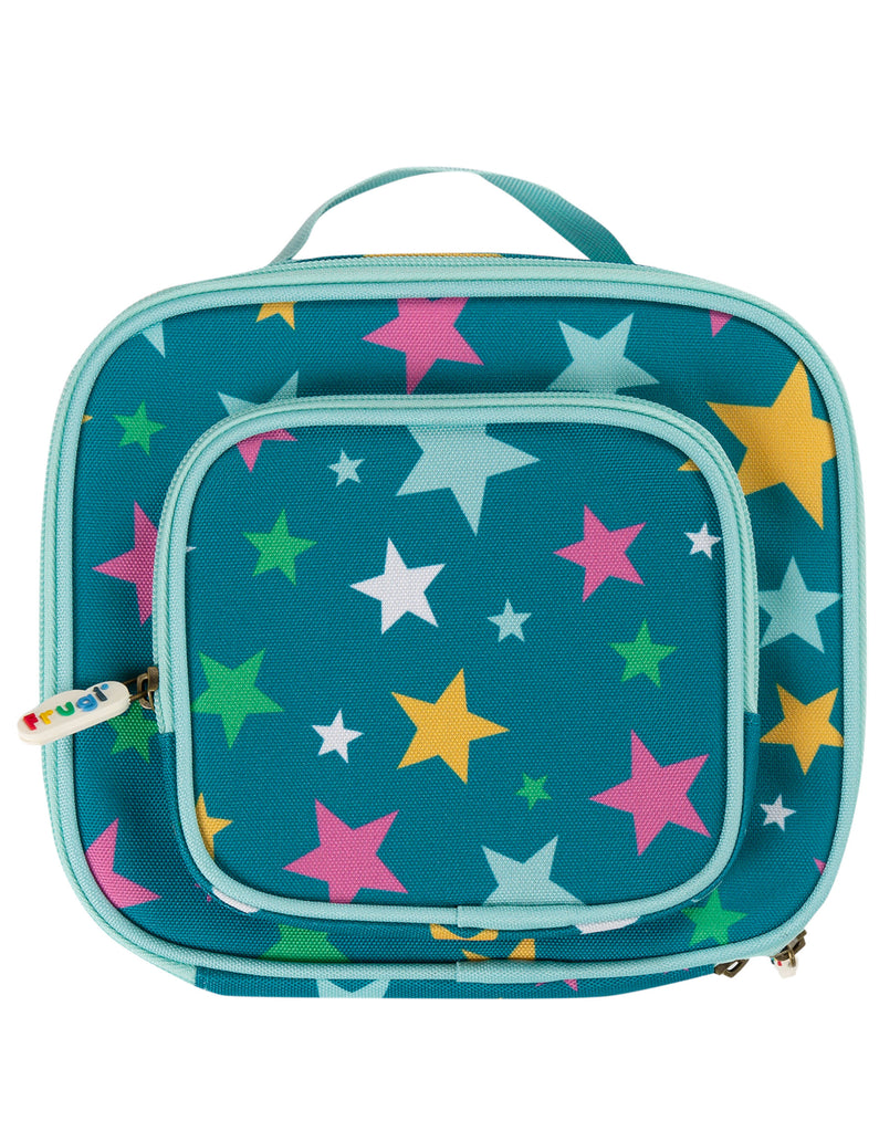 Frugi Pack A Snack Lunch Bag - Rainbow Stars