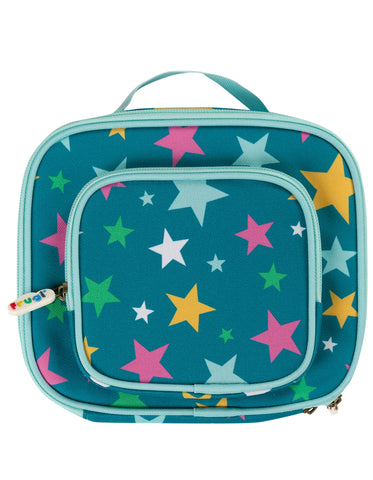 Image of Frugi Pack A Snack Lunch Bag - Rainbow Stars