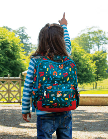 Image of Frugi The National Trust Adventurers Backpack - Pine Wood