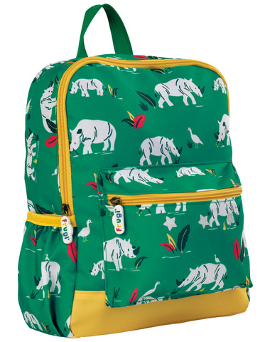 Image of Frugi Adventurers Backpack - Rhino Ramble - Tilly & Jasper