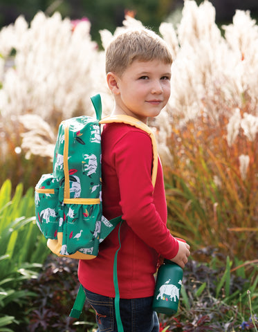 Frugi Adventurers Backpack - Rhino Ramble - Tilly & Jasper