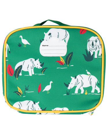Frugi Pack A Snack Lunch Bag - Rhino Ramble