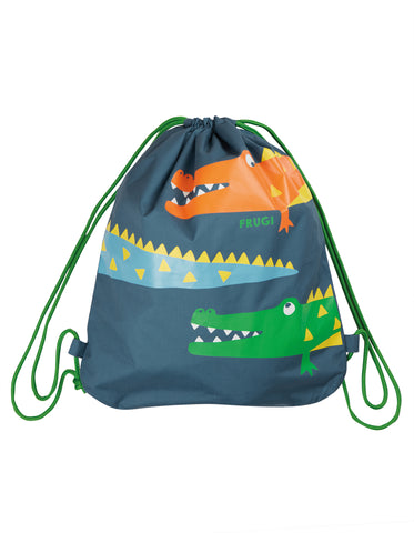 Image of Frugi Swashbuckler Swim Bag - India Ink/Crocs