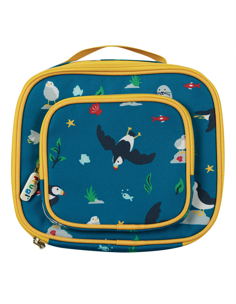 Frugi The National Trust Pack A Snack Lunch Bag - Puffin